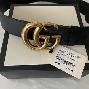 Authentic Gucci Marmont Belt 90
